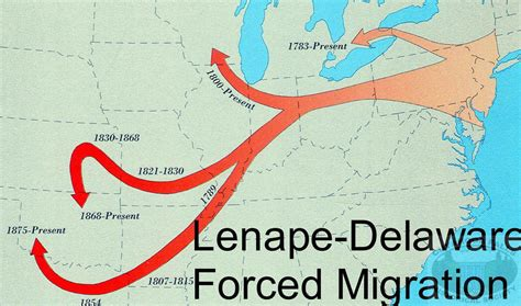 short history   lenni lenape chadds ford