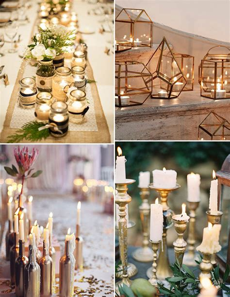 5 Simple And Inexpensive Winter Wedding Decor Ideas