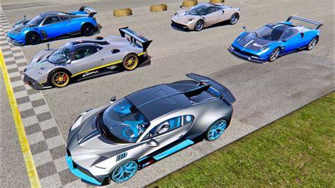 Virtua sports cars & rallye academy. Bugatti Divo vs Pagani Supercars 2019 - Old Monza - YouTube