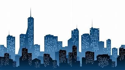 Skyline Silhouette Skylines Clip Clipart Transparent Cities