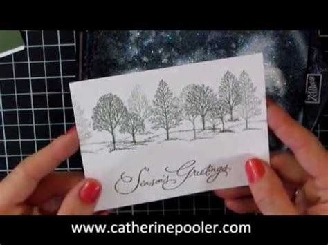 christmas card making series  stampin  lovely