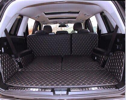 good quality special trunk mats  mercedes benz gls