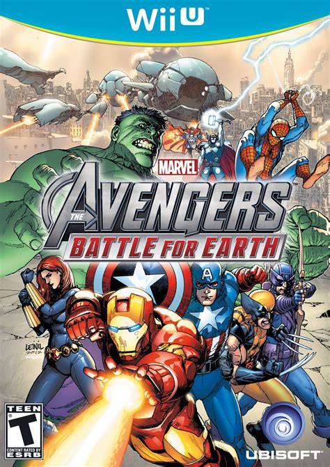 Marvels The Avengers Battle For Earth Wii U Ign