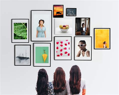 picture frames wall mockup mockup templates images