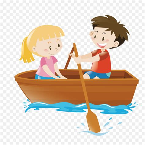 Boat On Lake Clipart by Rowing Boat Clip Vector Rowing Lake Png
