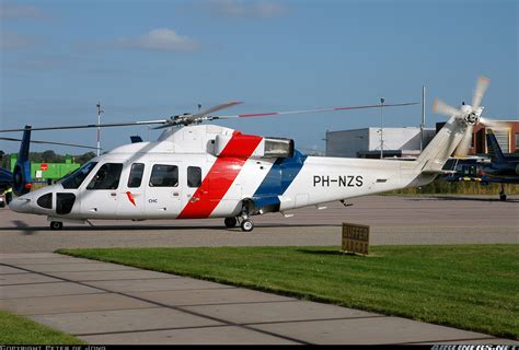 sikorsky   chc helicopters netherlands aviation