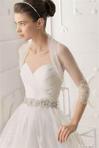 Aire barcelona 2014 bridal collection zsazsa bellagio for Wedding dress shrug