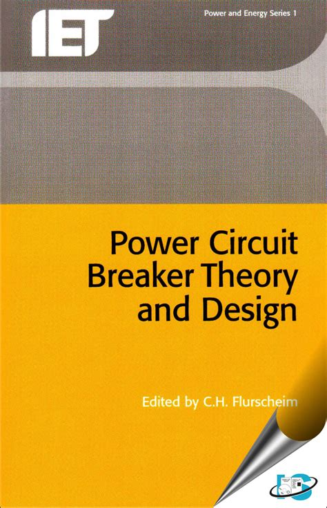 power circuit breaker theory  design  flurscheim