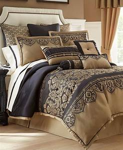 Waterford, Bannon, 6p, King, Comforter, Set, Black, And, 50