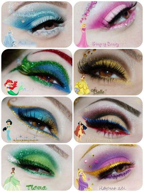 younique kudos virtual party  andrea berry body art disney eye makeup disney princess