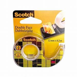 Adhésif Double Face : ruban adh sif double face 6 3 m x 12 mm 136d scotch ~ Voncanada.com Idées de Décoration