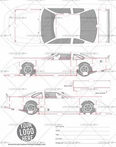 asphalt late model template srgfxcom With race car graphic design templates