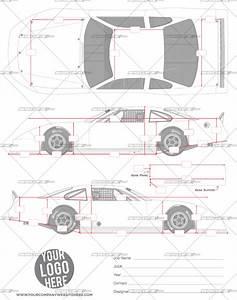 asphalt late model template srgfxcom With race car graphic design templates