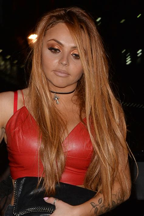 jesy nelson straight ginger long layers hairstyle steal  style