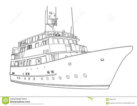 disegni da colorare yacht yacht coloring book pencil and in color