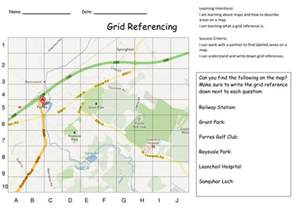 Reading Map Grid Reference