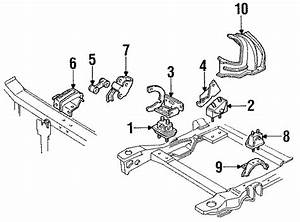 Buick Regal Engine Bracket  3 8 Liter  Rear  Transaxle