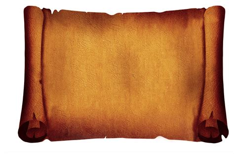parchment scroll clipart png  cliparts