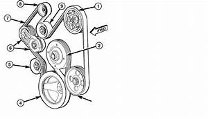 Dodge Ram 1500 Drive Belt Diagram