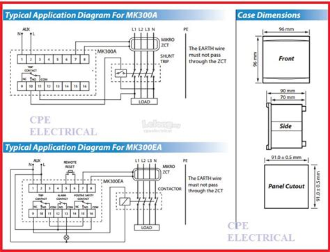 Earth Leakage Relay Wiring Diagram by Mikro Mk300a Numerical Earth Leakage End 9 24 2020 1 15 Pm