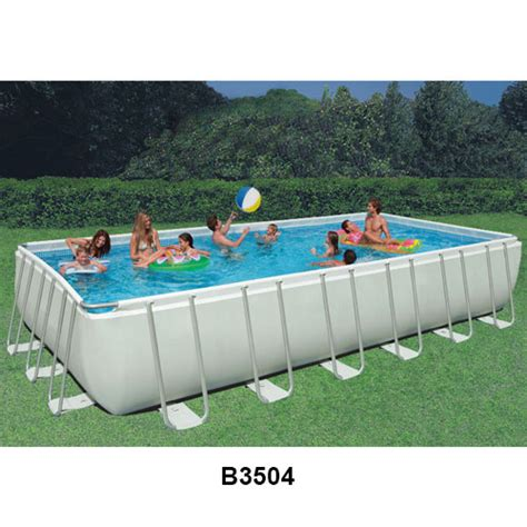 Intex Ultra Frame Above Ground Swimming Pools ─ In The Swim