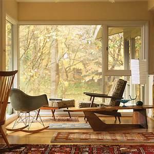 Mid century modern home midcentury living room for Midcentury living room