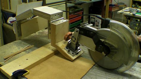 Diy Glide Mitre Saw  Rail Free Chop Saw  Axial System