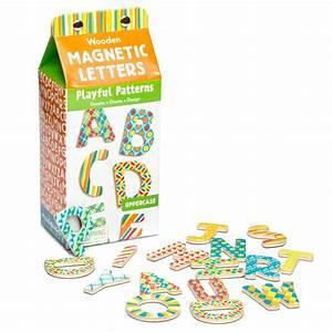 mudpuppy playful patterns wooden magnetic letters With mudpuppy magnetic letters