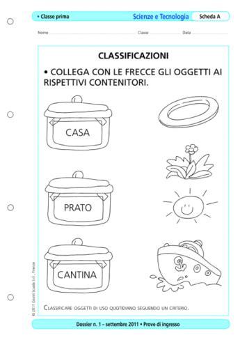 Test D Ingresso Scienze Naturali by Prove D Ingresso Scienze E Tecnologia Classe 1 La Vita