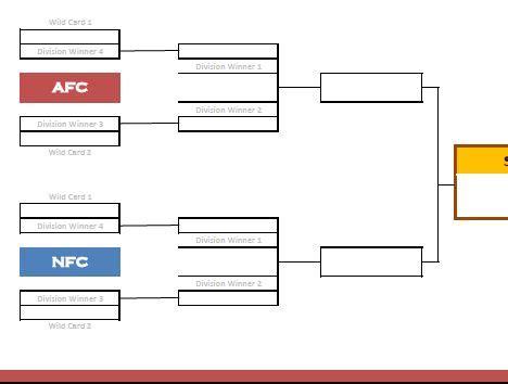 printable nhl playoff bracket  tournament brackets