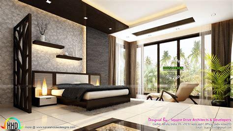 Very beautiful modern interior designs - Kerala home