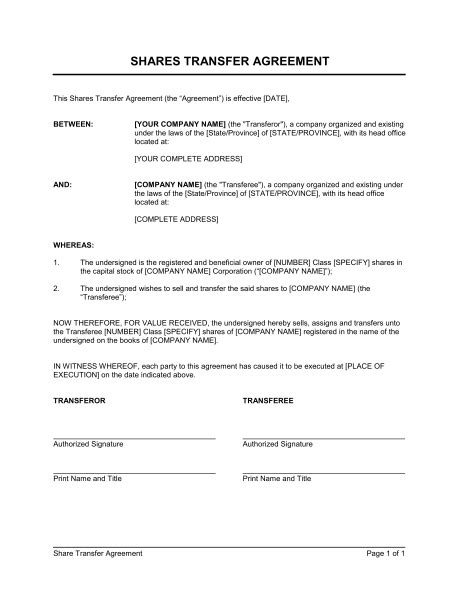 Image result for sample of share transfer deed | 1