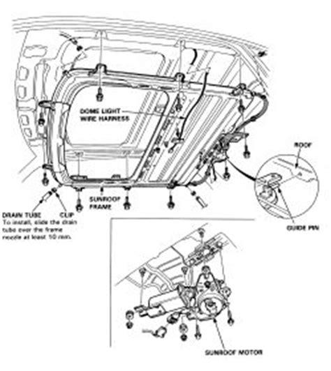 Acura Legend Motor Mount Diagram by Repair Guides Exterior Sunroof Panel Autozone