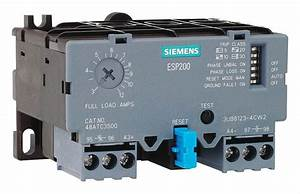 Siemens Iec Style Overload Relay  10 0 To 40 0a  3 Poles