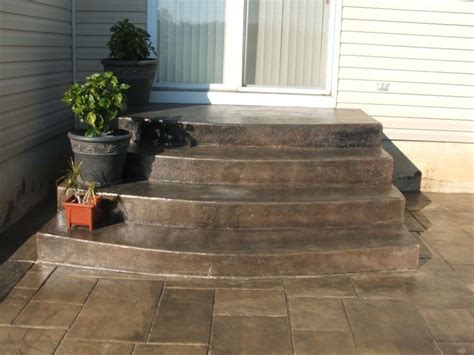 sted concrete steps steps garden
