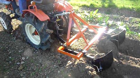 Tracteur De Jardin Occasion by Ets Meynie Buttoir Pour Micro Tracteur Youtube