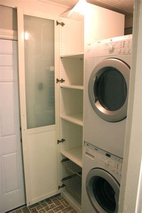 cabinet  laundry ikea pax wardrobe great idea