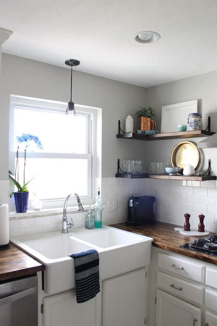 how to construct kitchen cabinets wonderfully made adding open shelves to the kitchen 7224