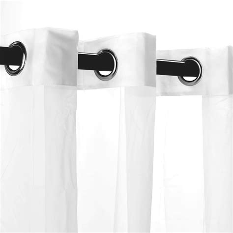 sheer white polyester outdoor curtains dfohome