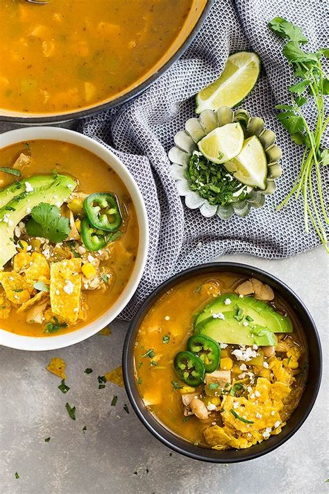 We will put the printable version in as soon as it's available. A quick and easy 30 minute white chicken chili that's ...