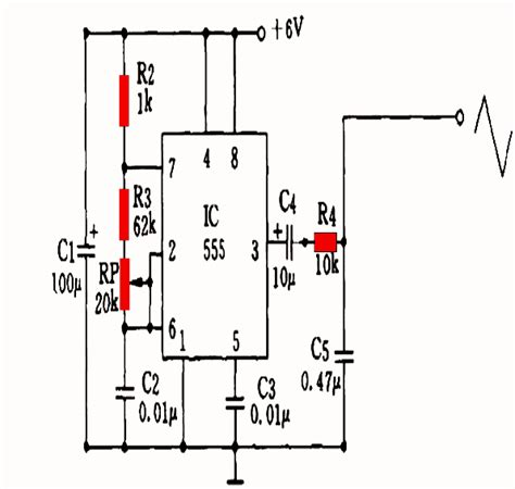 ic 556 sine wave inverter circuit circuit projects