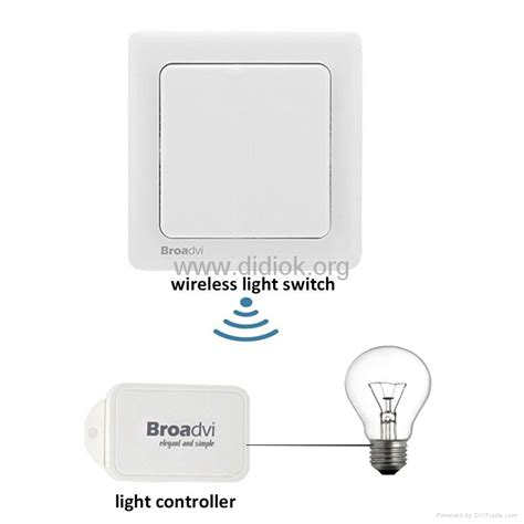 wireless fan and light control self power remote control wireless light switch for light