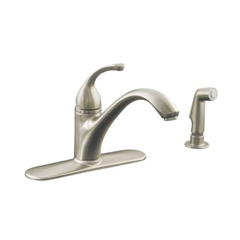Kohler Forte Bathroom Faucet by Kohler 10412 Forte Single Kitchen Pull Out Spray