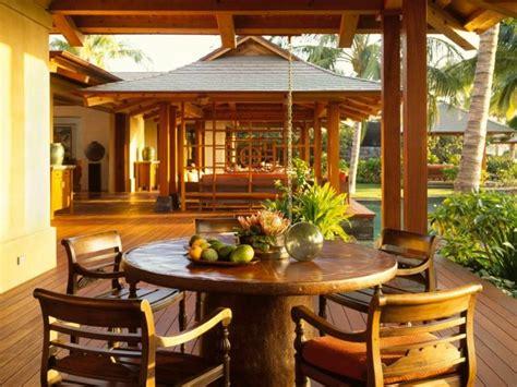 tapis de cuisine casa terrasse en bois 75 idées pour une déco moderne