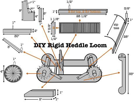 build   rigid heddle loom designs