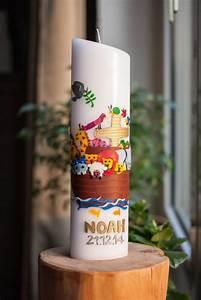 Arche Noah Basteln : noahs taufe die taufkerze diy ~ Yasmunasinghe.com Haus und Dekorationen