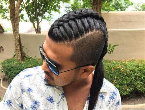 classic ways style single braids  men  cool