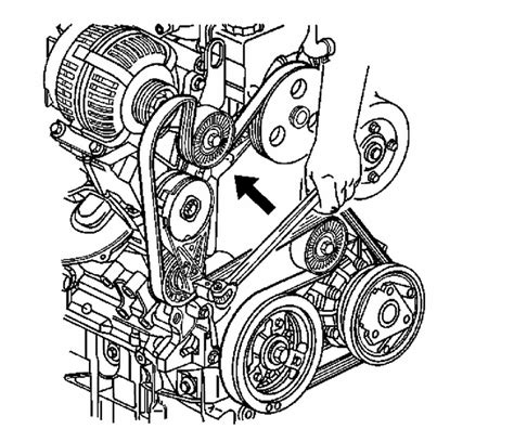 Diagram Of 2003 Buick Lesabre Alternator by How To Remove Ac Compressor From Buick Rendezvous