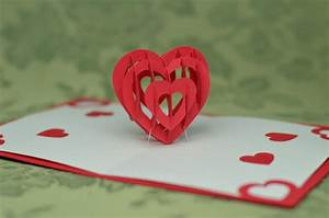 3d pop up card templates free - valentine 39 s day pop up card 3d heart tutorial creative