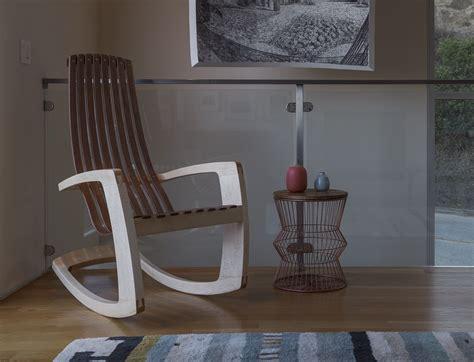 stylish modern rocking chair   comfy